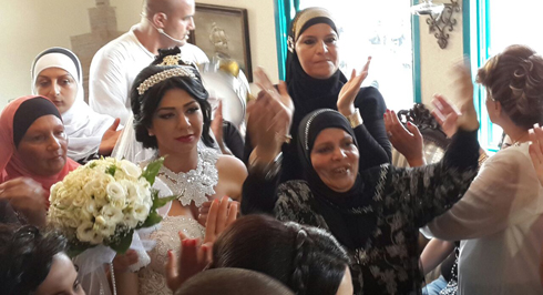 Mahmoud Mansour and Morel Malcha's Pre-wedding celebration (Photo: Hassan Shaalan)