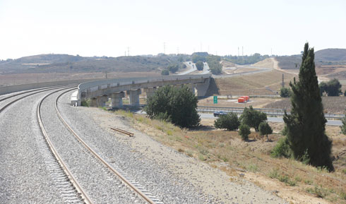 Sderot-Ashkelon railway (Photo: Gadi Kabalo)