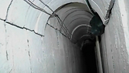 Hamas' tunnels Photo: Reuters