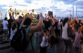 מתוך פסטיבל הריקודים בעיר