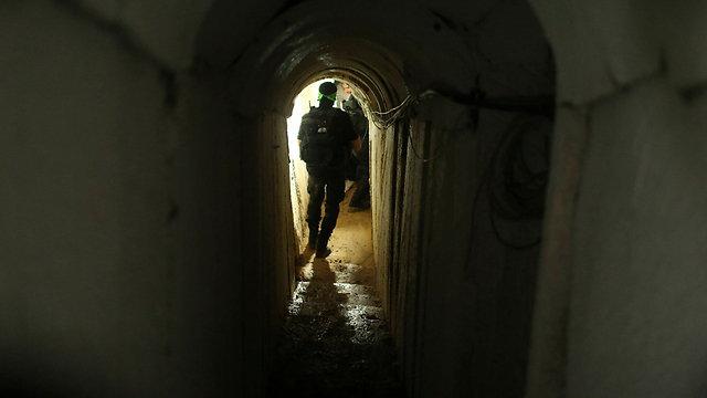 Hamas tunnel (Photo: Reuters)
