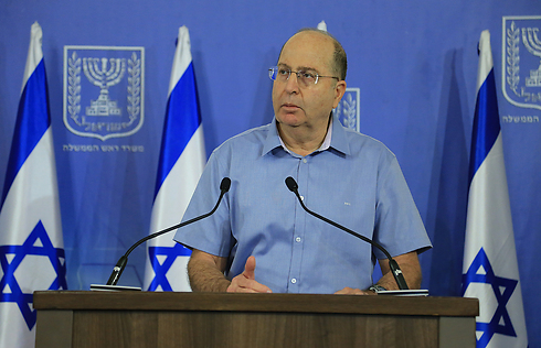 Ya'alon: Gaza op cost $9 billion. (Photo: Yaron Brener) (Photo: Yaron Brener)