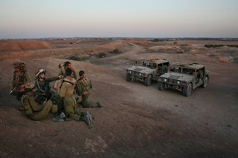 IDF forces in the Gaza Strip (Photo: Reuters)