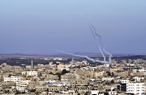 Over 4,500 rockets launched (Photo: AFP)