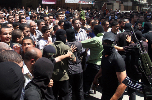 Hamas executing suspected collaborators with Israel (Photo: AFP)