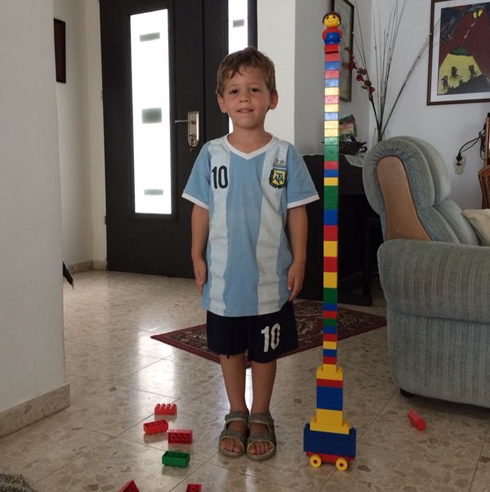 Four-year-old Daniel Tregerman who was killed when a mortar shell hit his home in Kibbutz Nahal Oz