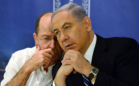 Defense Minister Moshe Yaalon and Prime Minister Bemjamin Netanyahu (Photo: Haim Zach, GPO) (Photo: GPO)