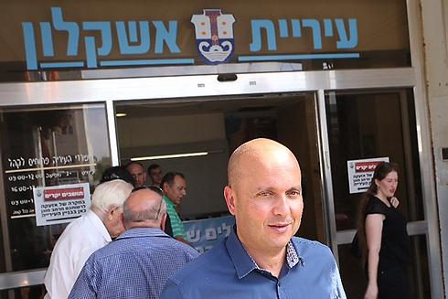 Ashkelon Mayor Itamar Shimoni (Photo: Moti Kimchi) (Photo: Moti Kimchi)