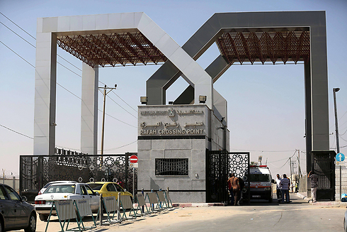 Rafah crossing, between Egypt and Gaza (Photo: AFP)