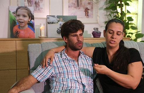 Doron and Gila Tregerman (Photo: Motti Kimchi)