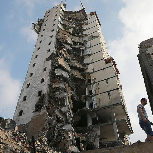 Gaza ruins (Reuters) (Photo: Reuters)