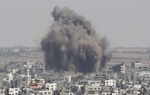 IDF hit over 3,000 targets (Photo: Reuters)