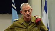 IDF Chief of Staff Benny Gantz Photo: GPO