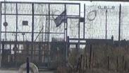 קוניטרה מורדים סוריה מעבר הגבול מטרים מדגל ישראל Photo: YouTube
