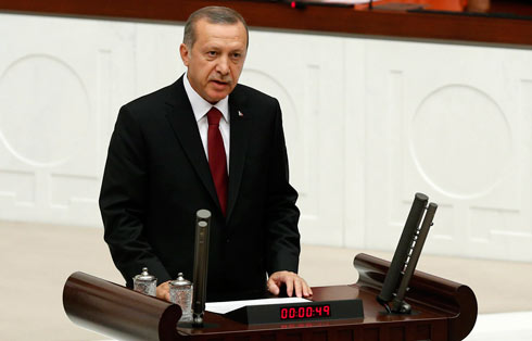 Turkish leader Tayyip Erdogan (Photo: Reuters)