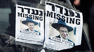 Missing person flyers Photo: EPA