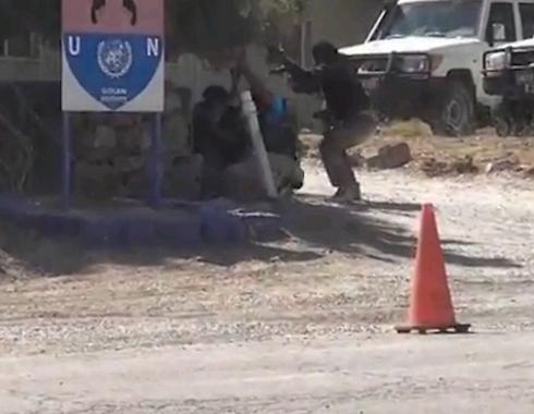 לכתבה בלבד! קוניטרה מורדים סוריה גדר רמת הגולן