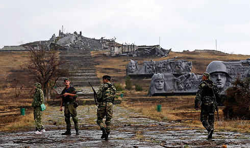 Pro-Russian rebels in eastern Ukraine. (Photo: Reuters) (Photo: Reuters)
