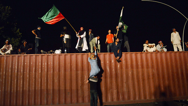 Pakistani protesters (Photo: AFP)