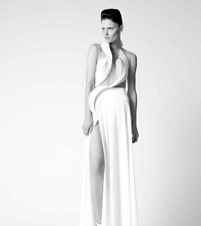 Dress from Alon Livne's 2014 spring/summer collection (Photo: Alon Livne online)