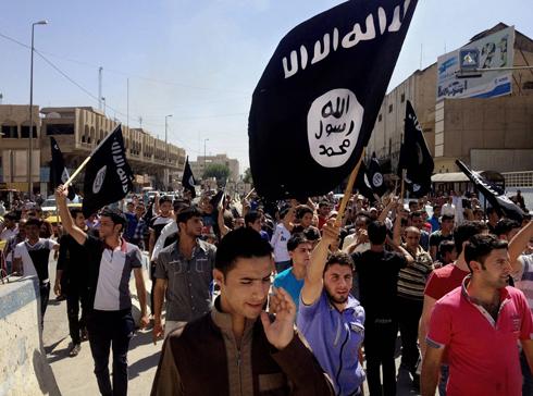 תומכי דאעש בסוריה (צילום: AP)
