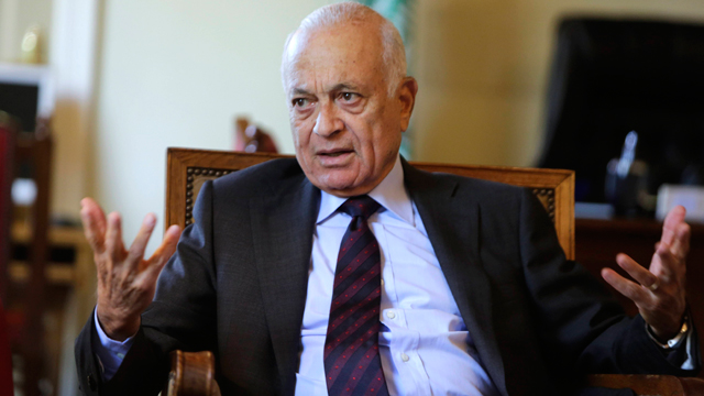 Arab League chief Nabil Elaraby (Photo: AP)