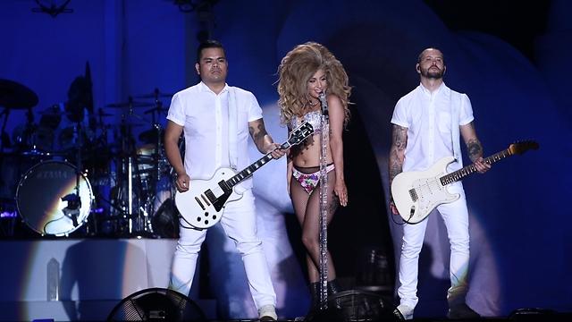 Gaga at Tel Aviv's Yarkon Park (Photo: Shuka Cohen)