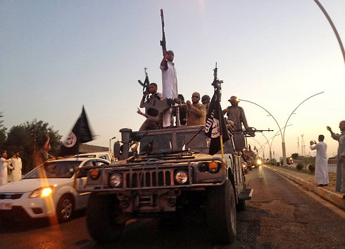 Islamic State members in Iraq (Archive Photo: AP)