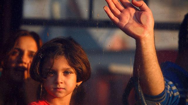 Gazans flee to Europe (Photo: Reuters) (Photo: Reuters)