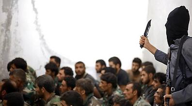 דאעש בסוריה (צילום: AP)