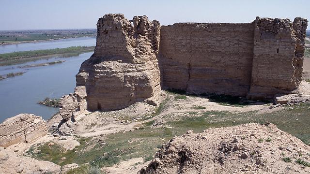דורס אירופוס, שבקרבת גבול עיראק סוריה, נמצאת כיום תחת שליטת דאעש (צילום: Gettyimages)