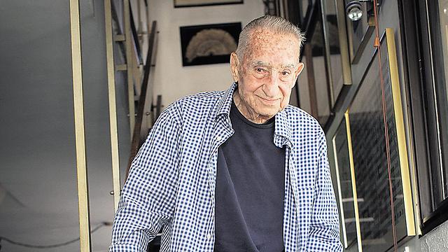 Former commander of the Mossad's Caesarea Division Mike Harari (Photo: Ilan Sapira)