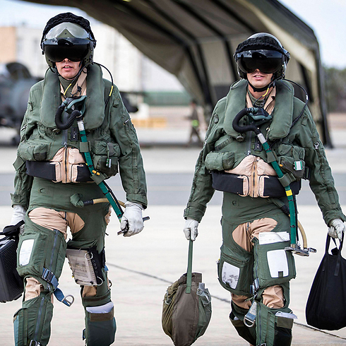 RAF Tornado pilots stationed in Cyprus. (Photo: Reuters)