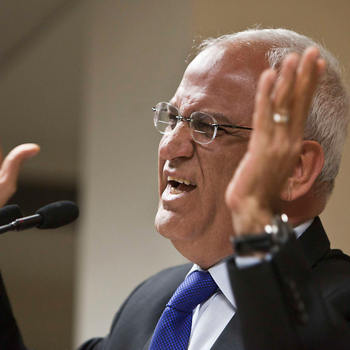 Palestinian negotiator Saeb Erakat. (Photo: Reuters)