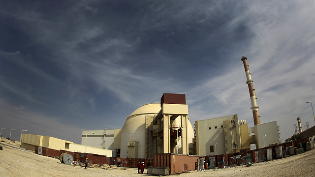 Nuclear plant in Iran's Bushehr (Photo: Reuters)