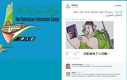 Hamas' Twitter page