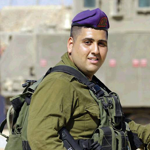 Sergeant Yaniv Tuvitz (Photo: Gadi Kabalo)
