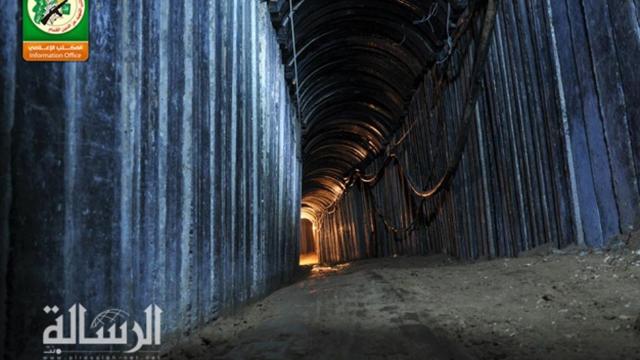 Hamas tunnel dug after Operation Protective Edge (Photo: Reuters)