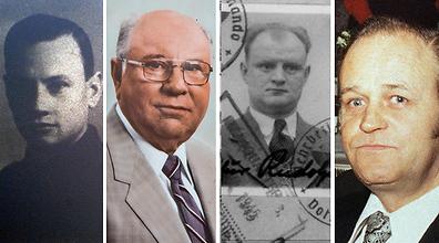 ארבעה מהנאצים שנהנו מכספי האמריקנים (צילום: AP)