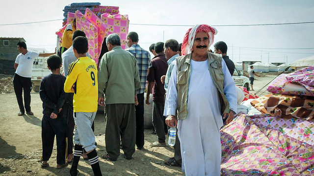 Yazidi refugees fleeing Iraq (Photo: Israid)