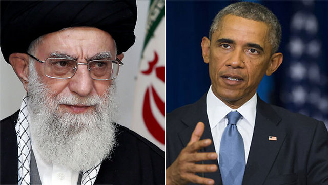 US President Barack Obama and Iranian Supreme Leader Ayatollah Ali Khamenei