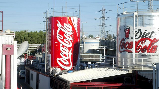 Coca Cola factory in Bnei Brak (Photo: Zvika Tishler)