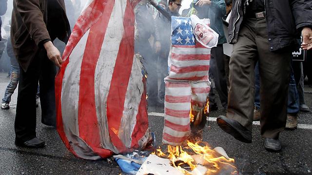 An anti-US rally in Tehran last week. (Photo: EPA)