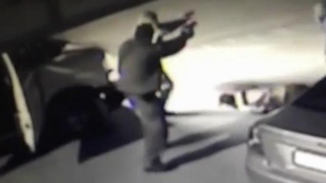השוטרים לאחר הירי בחמדאן