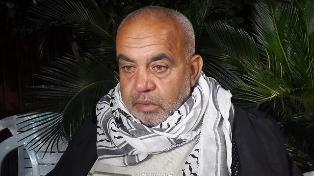 Rauf Hamdan, father of Khair Hamdan. (Photo: Mohammed Shinawi)