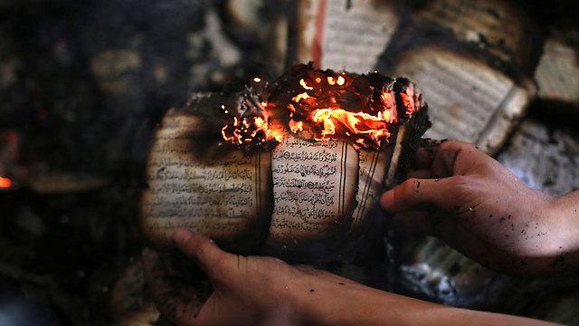Damaga to mosque (Photo: AFP) (Photo: AFP)