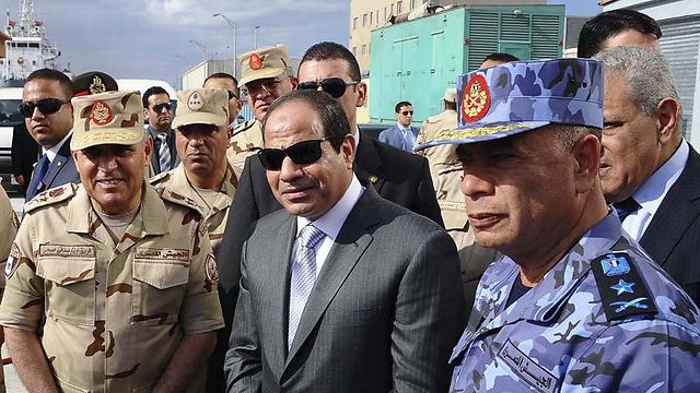 משבר האנרגיה הפך את מצרים מיצואנית ליבואנית גז. א-סיסי (צילום: AP)