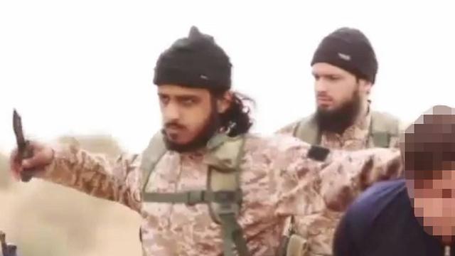 French jihadist, on right (Photo: MCT)