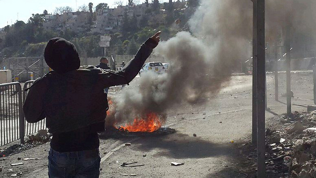 Riots in Shuafat. 'An active incubator of hostility and violence, which creates killing sprees fed by religious fanaticism' (Photo: Mohammed Shinawi)