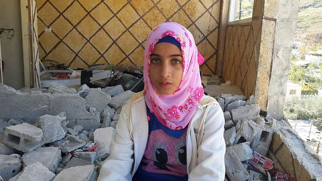 Nabrus a-Shaludi said she was proud of her brother. (Photo: Mohammed Shinawi)